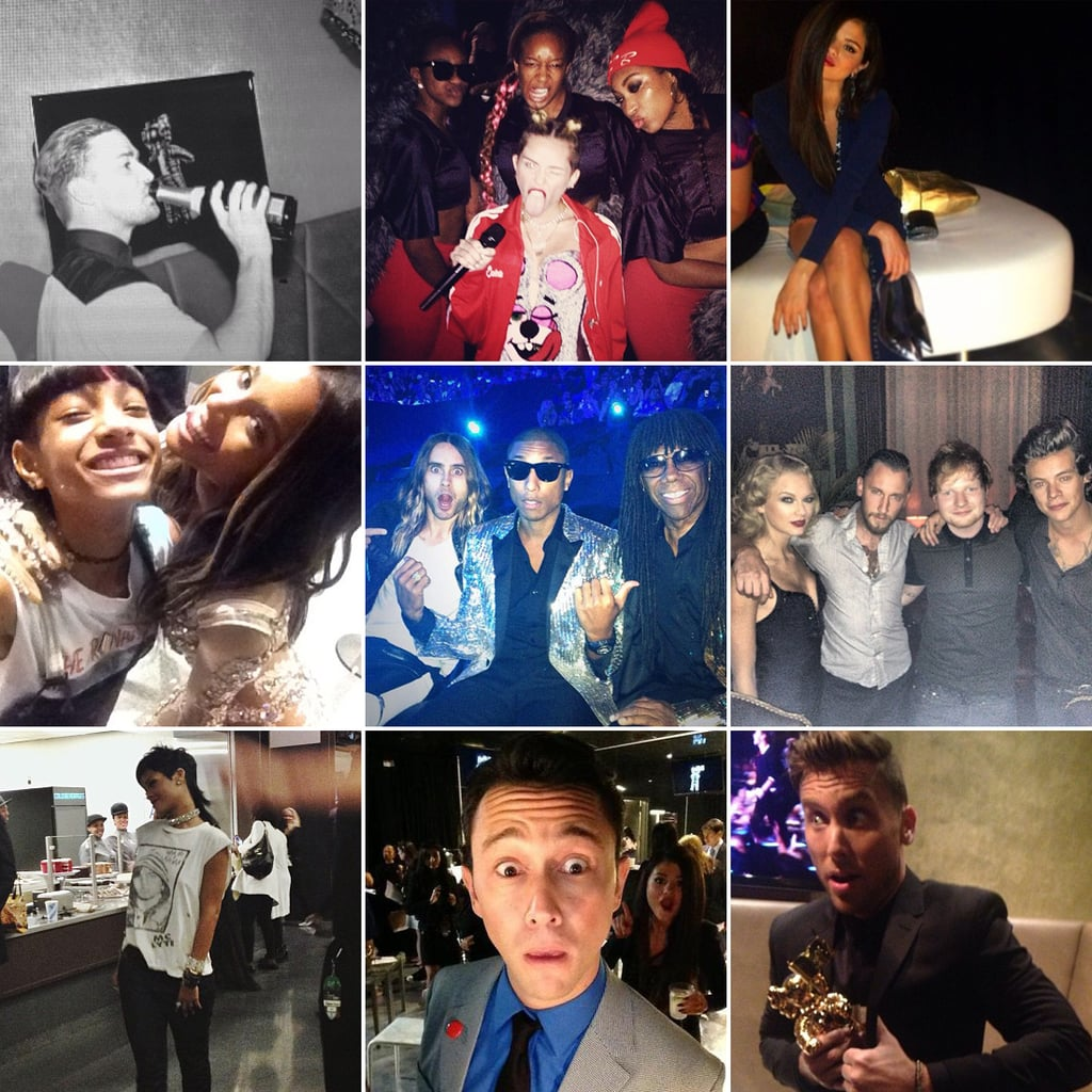 Celebrity Instagram Pictures From the VMAs 2013
