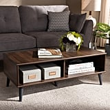 Baxton Studio Pierre Midcentury Modern Coffee Table