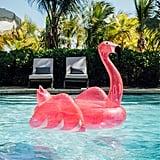 Funboy Pink Glitter Flamingo Pool Float