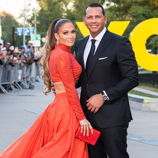 Jennifer Lopez and Alex Rodriguez At 2019 CFDA Awards