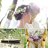 Sunny Spring Inspiration For Your Engagement Shoot  If you need any convincing that Spring is the season of love, then look no further than these très dreamy and affectionate engagement shoots. Glean inspiration for your own springtime prewedding photo session with these sunny snaps complete with cherry blossoms, canoe rides, floral crowns, and park picnics.