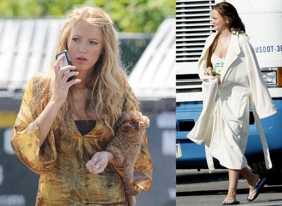 Gossip Girls Film at the Hamptons