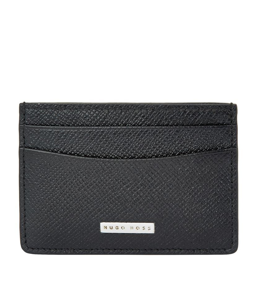 054157806 Boss Signature Leather Cardholder | Best Fashion Accessories Gifts ...