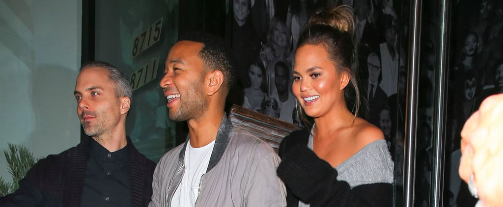 John Legend and Chrissy Teigen Celebrate His New Single With a Date Night