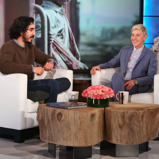 Dev Patel on The Ellen DeGeneres Show January 2017