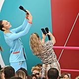 Maddie Ziegler and Candace Cameron Bure at the Teen Choice Awards 2019