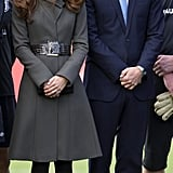 Kate at the FA National Centre of Football in 2012