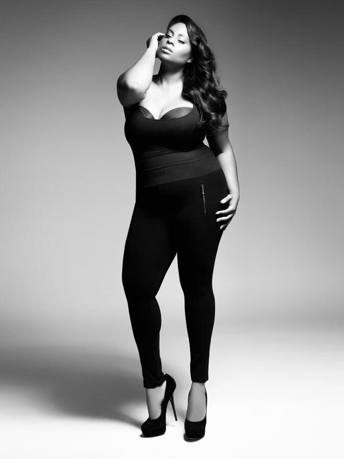 "Know What Works ""As a plus-size model, you have to know your angles. That's number one. You have to know about colors and prints, because certain things  designers will want to put on you are not made for a plus-size woman, and it's not going to work."" Speak Up For Yourself ""A lot of designers are not plus-size themselves, and the plus-size industry is a specific industry, so sometimes they don't know what we really want. But I'm a living person, and I know what a plus-size woman would like to wear. So, of course, I do let the designers know: 'Yes, I want to show my legs off. Yes, I would love to wear a miniskirt. I want an off-the-shoulder top.' We love to show our shoulders off. Some designers get touchy, but when they take that direction and they see that a garment sells, they learn to trust you and the fit models."" Source: Enrique Vega For The Fount Group"