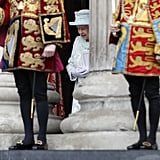 Kate, William, and Harry Rise Early For a Jubilee Mass