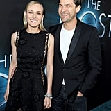 Diane Kruger had Joshua Jackson's support at the premiere of The Host in LA in March 2013.