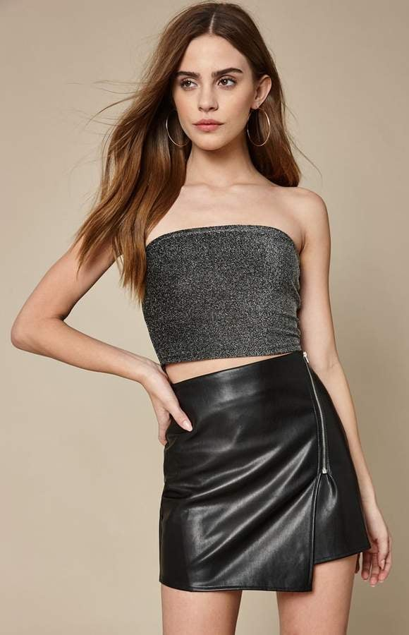 1a98926f994 La Hearts Glitter Tube Top