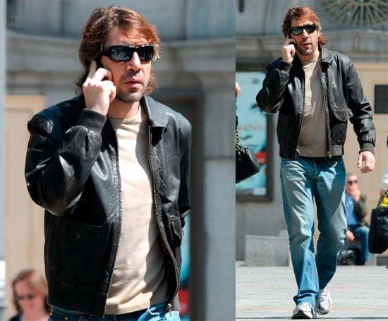 Javier Bardem in Madrid