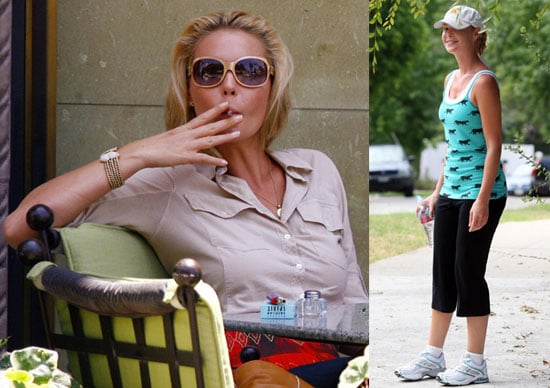 Photos of Katherine Heigl Smoking Who May Be Killed Off Grey's Anatomy