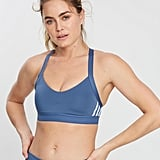 Adidas Performance All Me 3-Stripes Bra