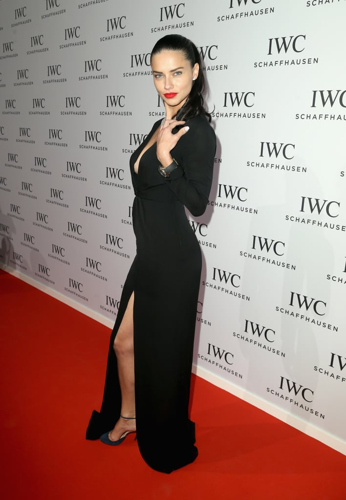 Adriana Lima in Jenni Kayne at the Inside the Wave Gala.
