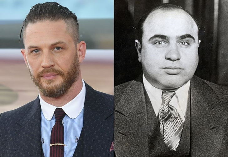 """Tom Hardy Shares """"Mega Awkward"""" Glimpse of His Transformation Into Mobster Al Capone"""
