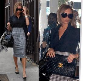 Victoria Beckham Shops in LA