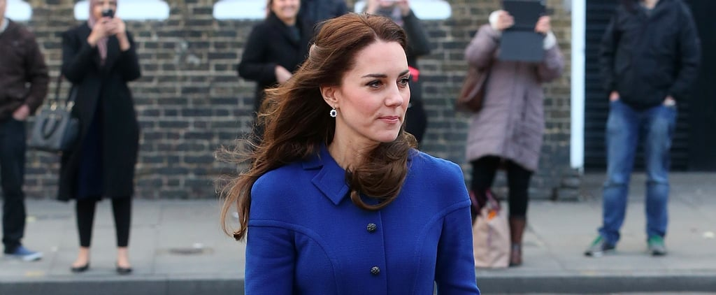 Kate Middleton Pulled Off Her Favourite Styling Trick For the First Time in 2017