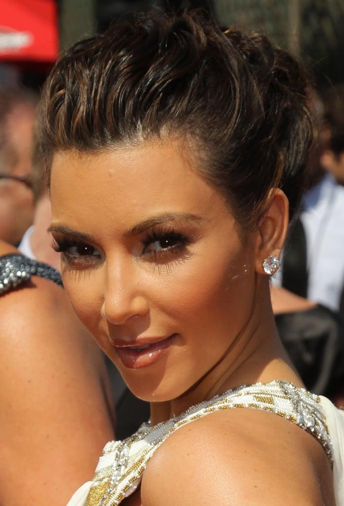Kim Kardashian at the 2010 Primetime Emmy Awards 2010-08-29 16:30:00
