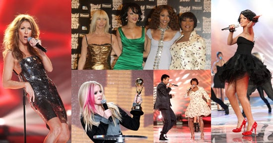 Celine and Patti Rule the World Music Awards