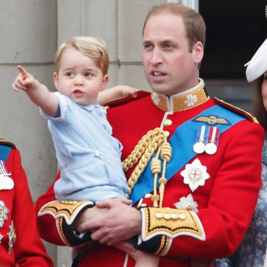 Prince William and Prince George Childhood Facts