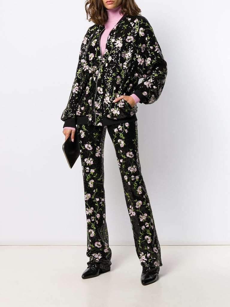 Giambattista Valli Sequin Embroidered Trousers