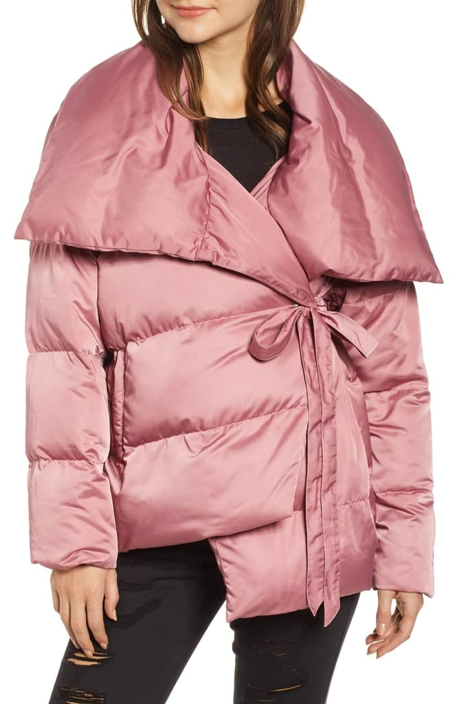 Avec Les Filles Wrap Puffer Jacket Best Affordable Coats