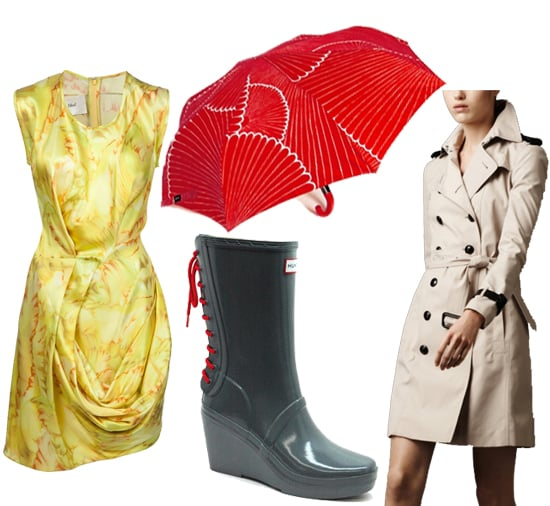 Trenchcoats Galoshes And Umbrellas The Chicest Rain Gear Popsugar Fashion