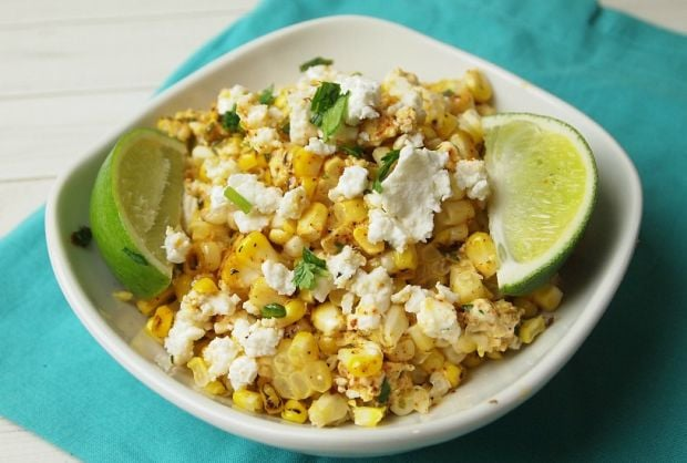 Mexican Corn Mac and Cheese