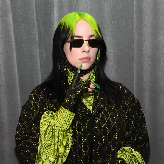 Billie Eilish Gucci Nail Art at the Grammys 2020