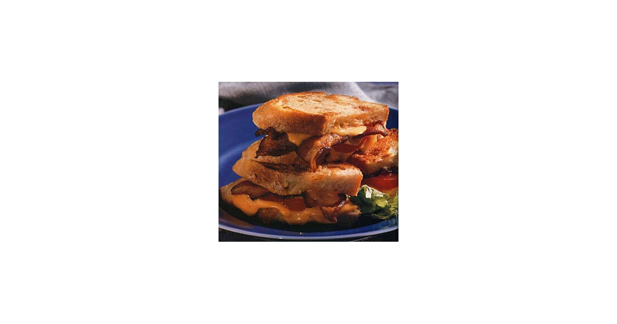 Grilled Cheddar, Tomato, and Bacon Sandwich Recipe ...
