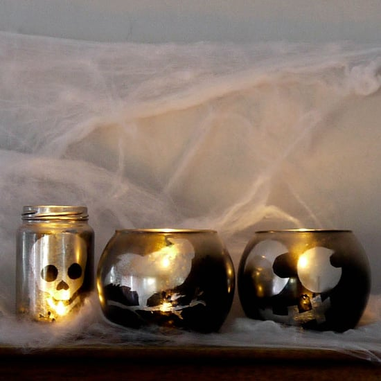 DIY Halloween Votives