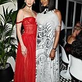 Bella Hadid and Naomi Campbell