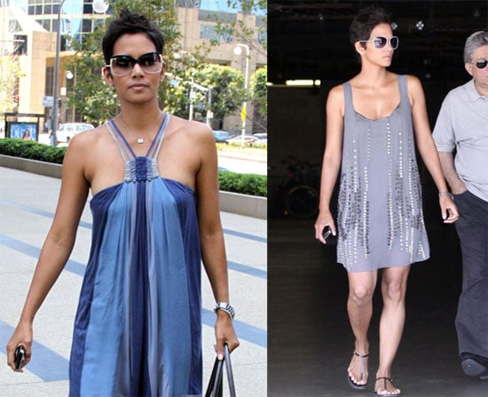Photos of Halle Berry Wearing Flowy Clothes in LA