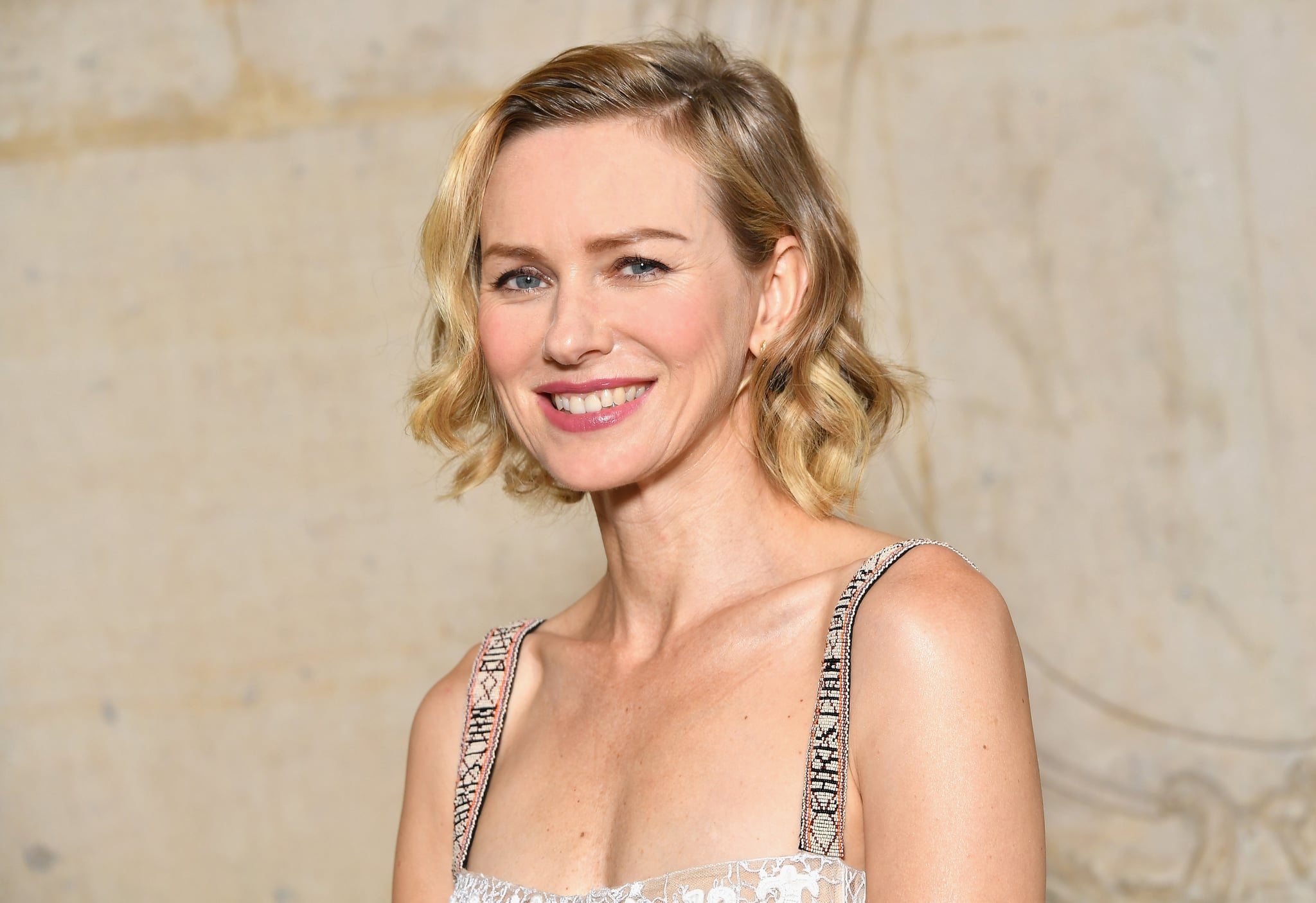 PARIS, FRANCE - SEPTEMBER 26:  (EDITORS NOTE: This image has been retouched for shine) Naomi Watts attends the Christian Dior show as part of the Paris Fashion Week Womenswear Spring/Summer 2018 on September 26, 2017 in Paris, France.  (Photo by Pascal Le Segretain/Getty Images for Dior)