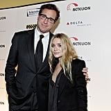 Bob Saget and Ashley Olsen at a Scleroderma Research Foundation event in NYC.