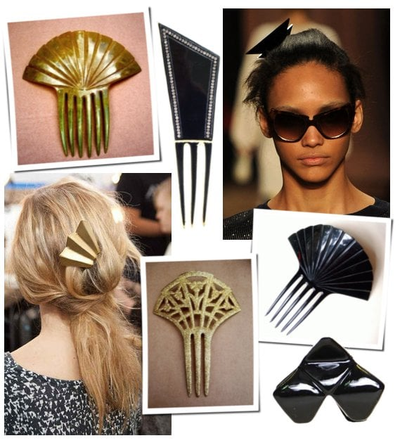Art deco hair trend at fall 2011 new york fashion week - Style new york deco ...