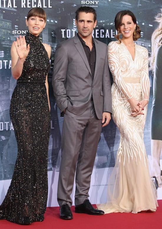 Jessica Biel & Kate Beckinsale Berlin Total Recall Premiere