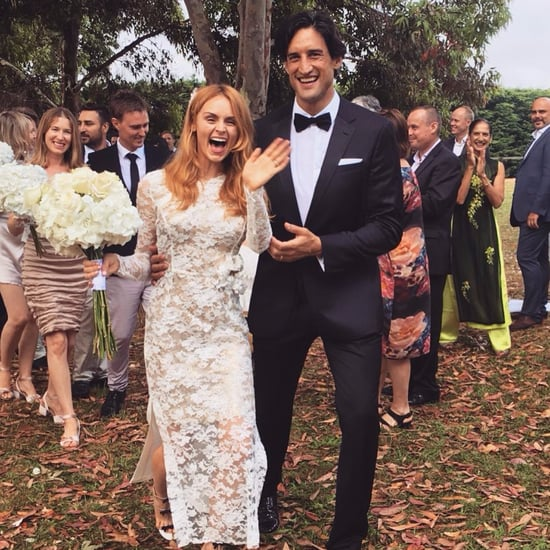 Australian Fashion Editor Wedding Dress