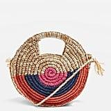 Snail Straw Tote Bag