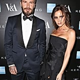 David and Victoria Beckham were almost too fierce to handle at Thursday's fashion gala in London.