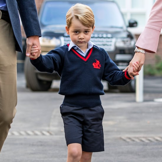 Prince George and Prince William First Day of School Photos