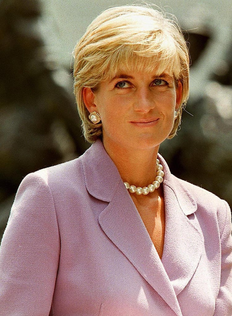Princess Diana With a Grown-Out Pixie in 1997