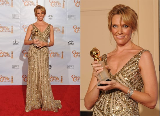 Toni Collette at the 2010 Golden Globes