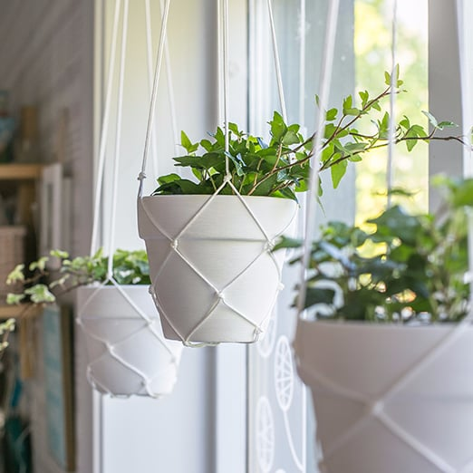 DIY Macrame Hanging Planter