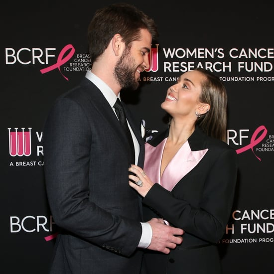 Miley Cyrus Liam Hemsworth at Cancer Research Fund Gala 2019