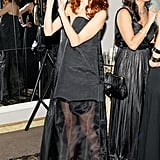 Taylor Tomasi Hill at the Save Venice Ball in New York. Photo: Billy Farrell BFAnyc.com