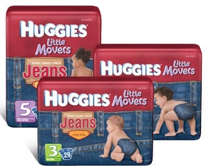 Huggies® Gets Fashion-Forward With New Denim Diaper Design