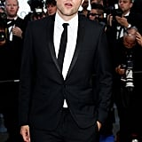 Robert Pattinson dressed up to attend girlfriend Kristen Stewart's On the Road premiere at the Cannes Film Festival.