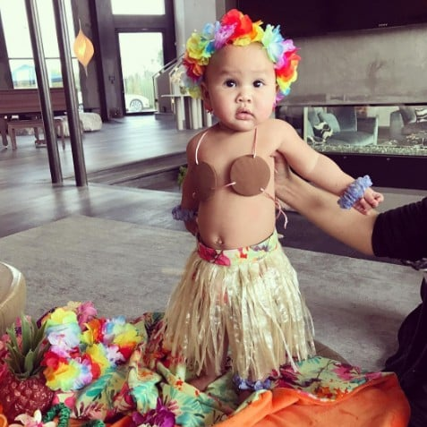 Chrissy Teigen's Daughter Luna in Her Halloween Costume 2016